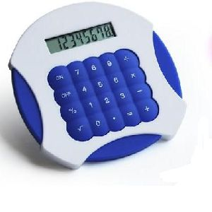 Fashion waterproof silicone calculator