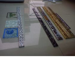 glass border tile for decoration, crystal mosaic