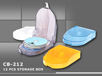 12pcs storage box