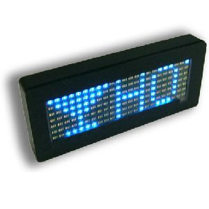 led message card
