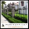 Ornamental beauty wrought iron fence for protection